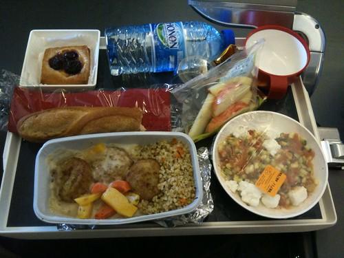 CDG-IAD: Lunch