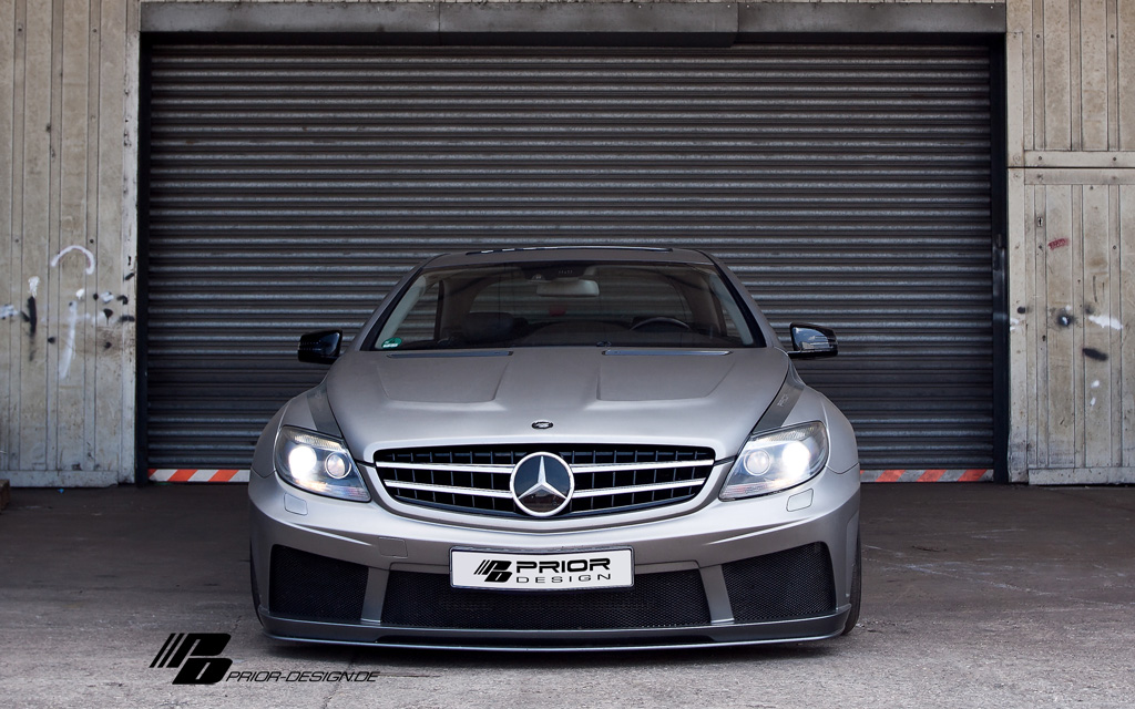 Mercedes benz cl w216 pd blackedition v2 widebody prior for Mercedes benz cl 240