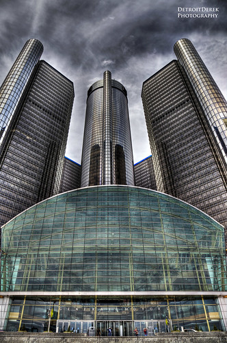 urban usa detail building tower up june architecture digital america canon midwest gm downtown view michigan detroit entrance headquarters automotive icon wintergarden 5d hq hdr allrightsreserved 2012 mkii renaissancecenter tallest 313 generalmotors motown 3exp