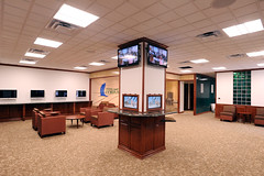 Islander Welcome Center interior