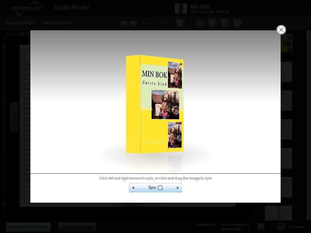 min bok godkjent 3