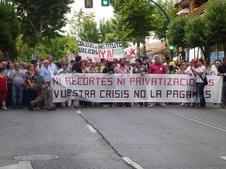 P1120611 Manifestación Leganés 19.06.12  a la 19.30 h