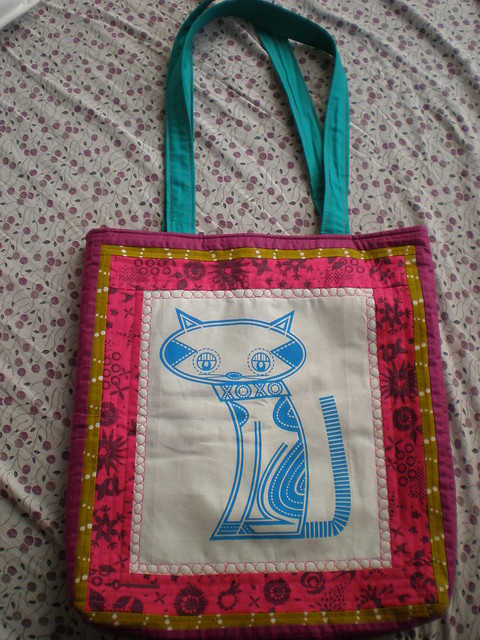 Sewing Room Swap Bag Front