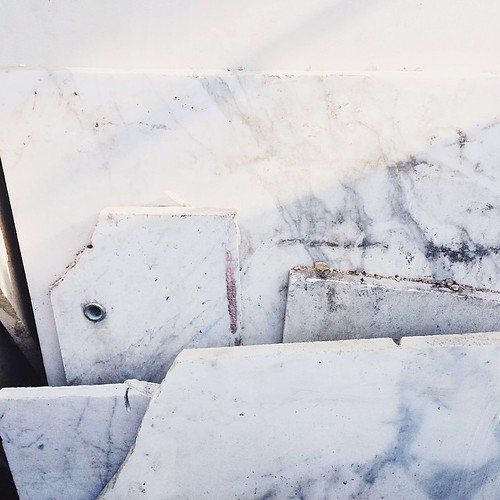 it's like i died and went to marble heaven.