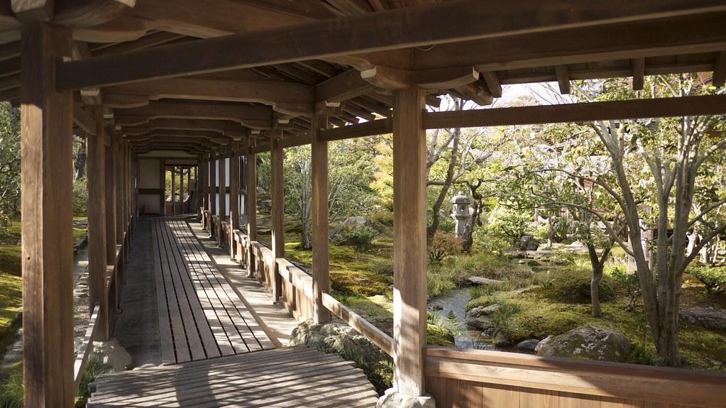 Tenryū-ji Walkway