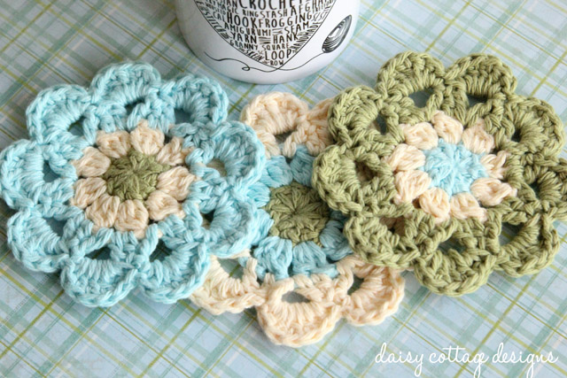 how to crochet a japanese flower