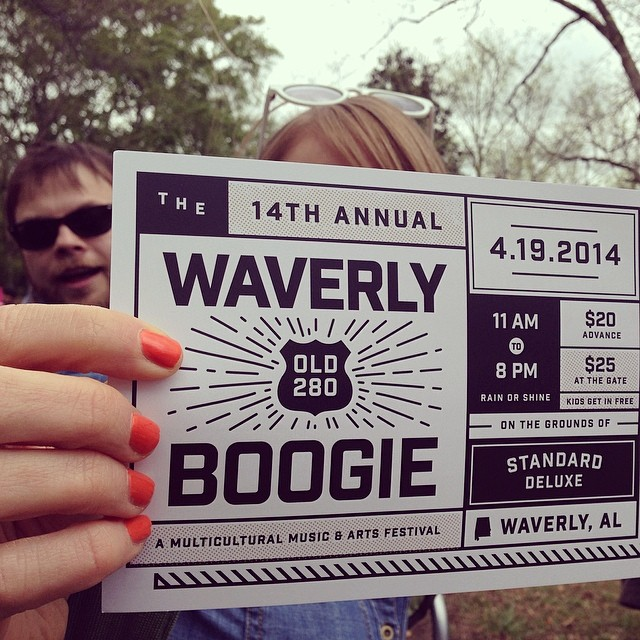 Waverly Boogie-- photo by @brunbec123; photobomb by my husband.