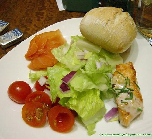 Wynn Buffet Salat teller