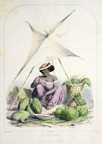 006- La plazera-Recuerdos de Lima, álbum, tipos, trajes y costumbres Vol 2-1857-Bonaffé A.A.