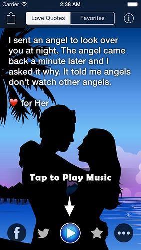 Romantic music quotes