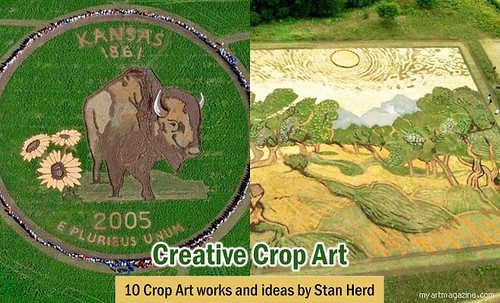 10 Beautiful Crop Art works and ideas by Stan Herd