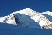 Skitour Graubünden. Piz Palü, Aufstieg über den Persgletscher. Foto: Günther Härter.