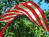 Old Glory has waved in every shape and form possible.