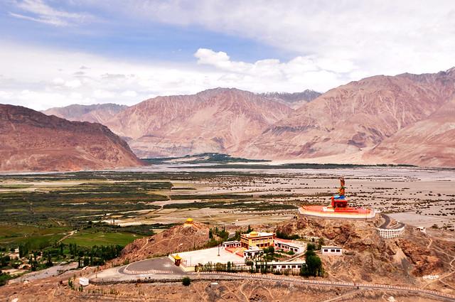 Diskit Monastery, Nubra Valley, Ladakh.