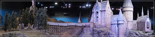The Establishing Shot: The Making of Harry Potter Tour - Model Room Hogwarts Castle Model by Craig Grobler