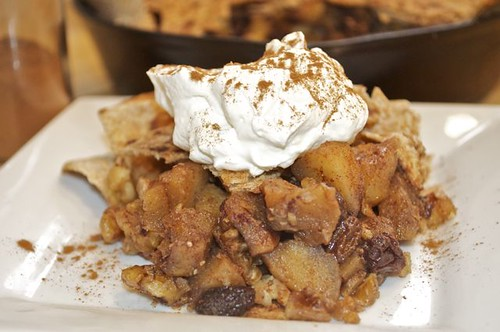 apple tortilla pie/feature