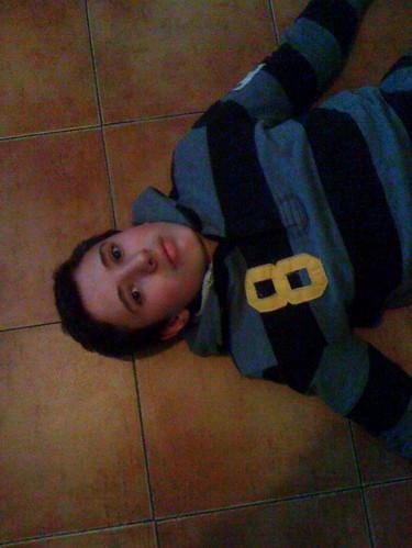 Ivo limpiando el suelo by JoseAngelGarciaLanda