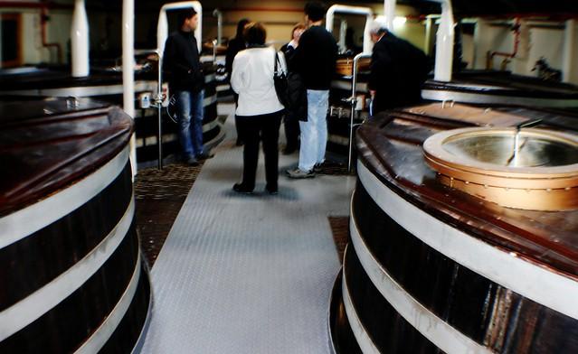 Washbacks at Glenfiddich Distillery