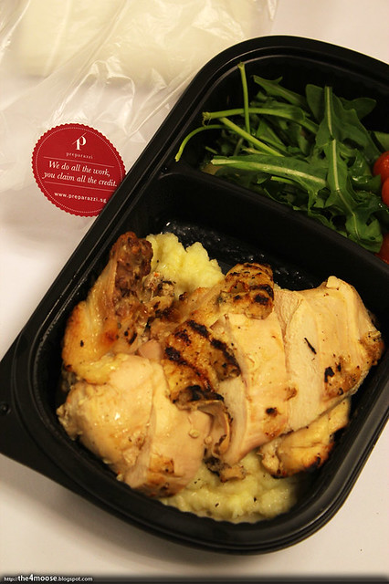 Preparazzi - Roasted Chicken with Potato Mash
