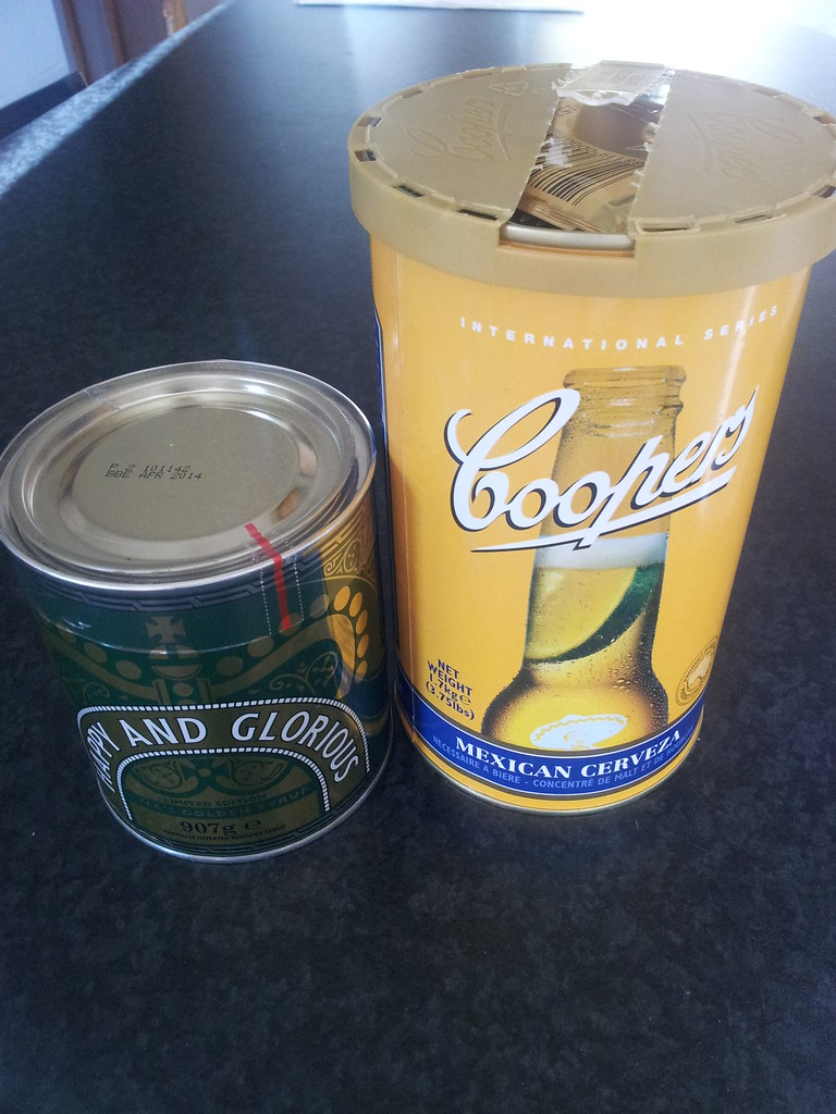 Mexican Lager Kit and Large Tin of Golden Syrup