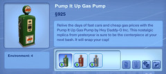 Pump it Up Gas Pump