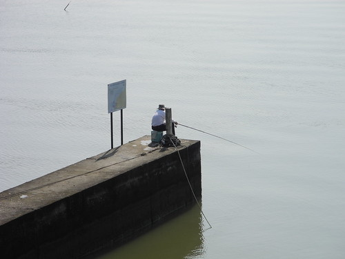 Fisherman near Hsinchu