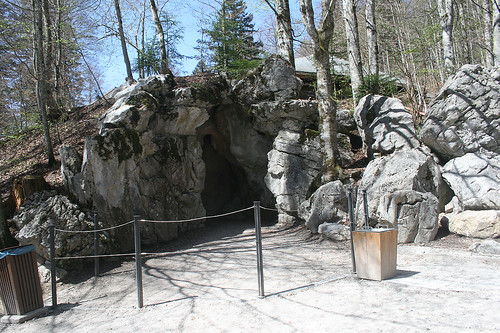 Eingang zur Venusgrotte - Schloß Linderhof