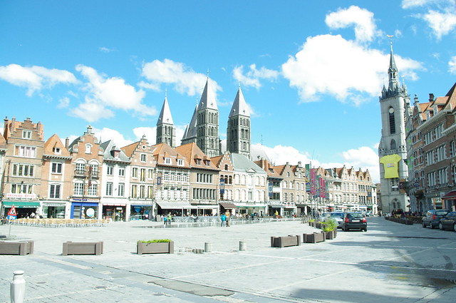 Travel to Tournai (Belgium): A route around the city