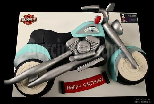 Harley Davidson Motorsiklet Pasta
