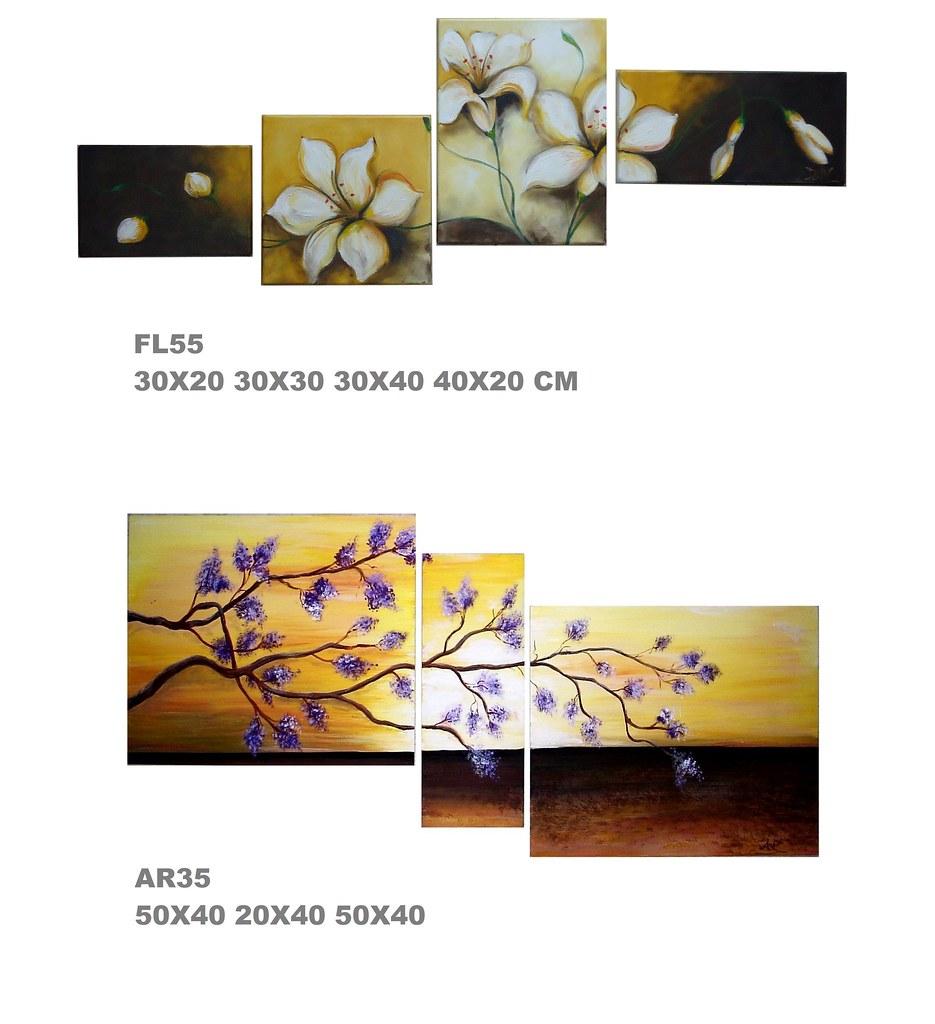 Florales abstractos modernos lan cuadros ajilbabcom portal - Cuadros modernos ...