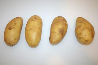 01 - Zutat Kartoffeln / Ingredient poatoes