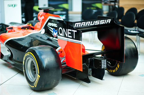 Marussia and Sage business software