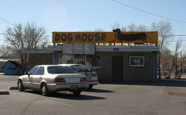 The dog house in albuquerque by sturap flickr for Dog house albuquerque