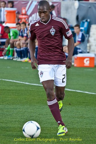 Luis Zapata Colorado Rapids 1 Apr 2012 by Corbin Elliott Photography