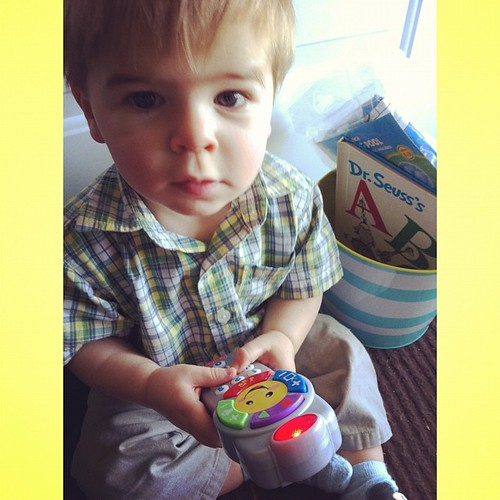Liam's Easter basket!