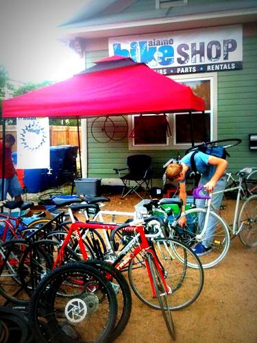 Alamo Bike Shop- Franken Bike