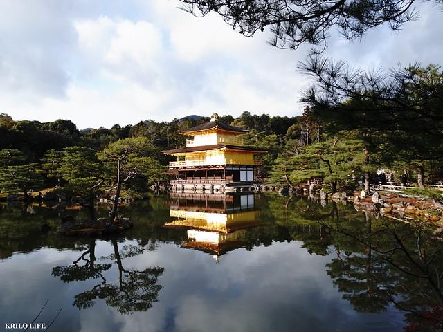 金閣寺。1