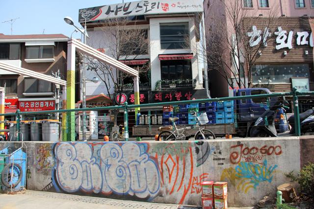 Hongdae (Đại học Hongik)