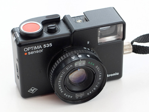 Agfa Optima 535 Sensor by pho-Tony
