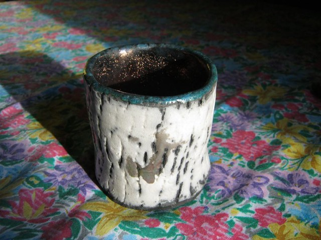 first Raku tea bowl