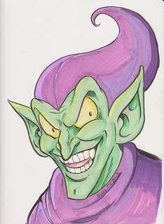 Green Goblin by Bobby Timony