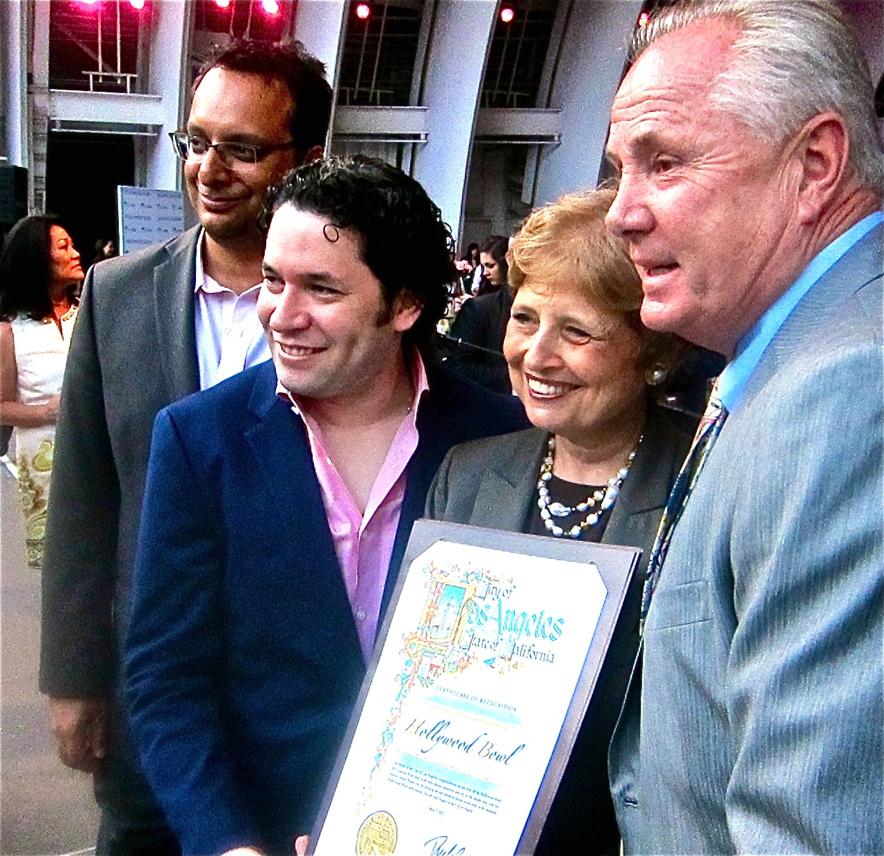 city award to Dudamel