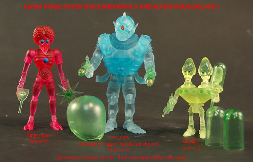 Outer Space Men Wave 5 Alpha Phase