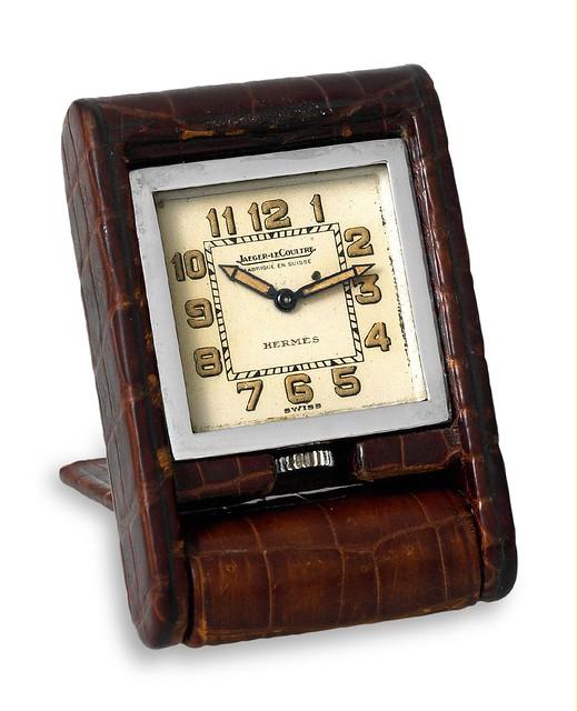 Jaeger Desk Clock with Power Reserve (ADOS Mignonnette) 1935