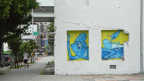 Graffiti by Candy Bird @ Taipei City, Taiwan