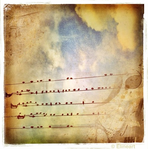 330/365- Music Up In The Sky by elineart