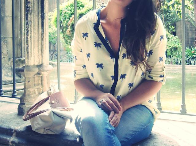 Camisa palmeras look