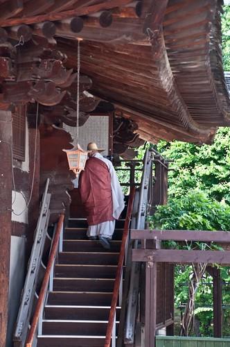 Monk, Jogyesa Temple, Seoul