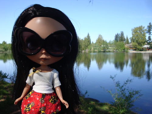 Makani at the lake