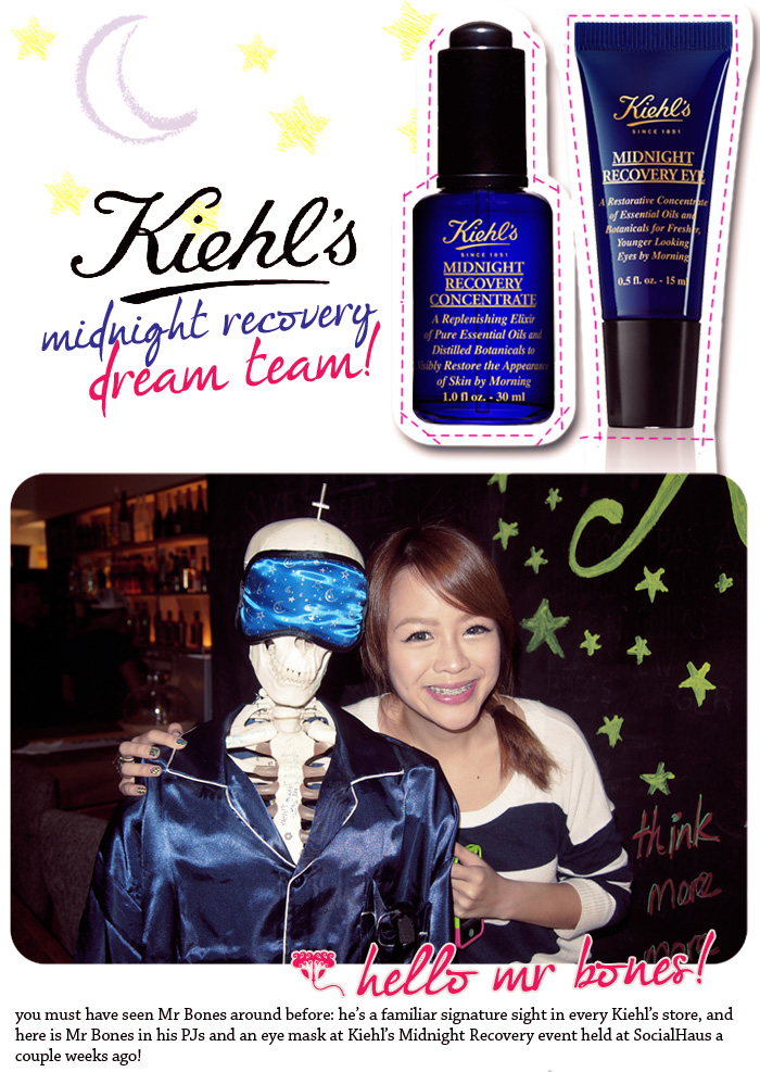 Kiehl's Midnight Recovery Dream Team!